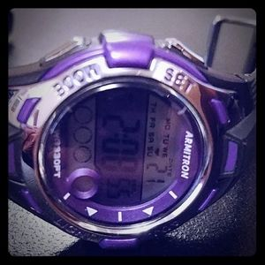 🔴SPECIAL ITEM! Armitron Purple Sport Watch